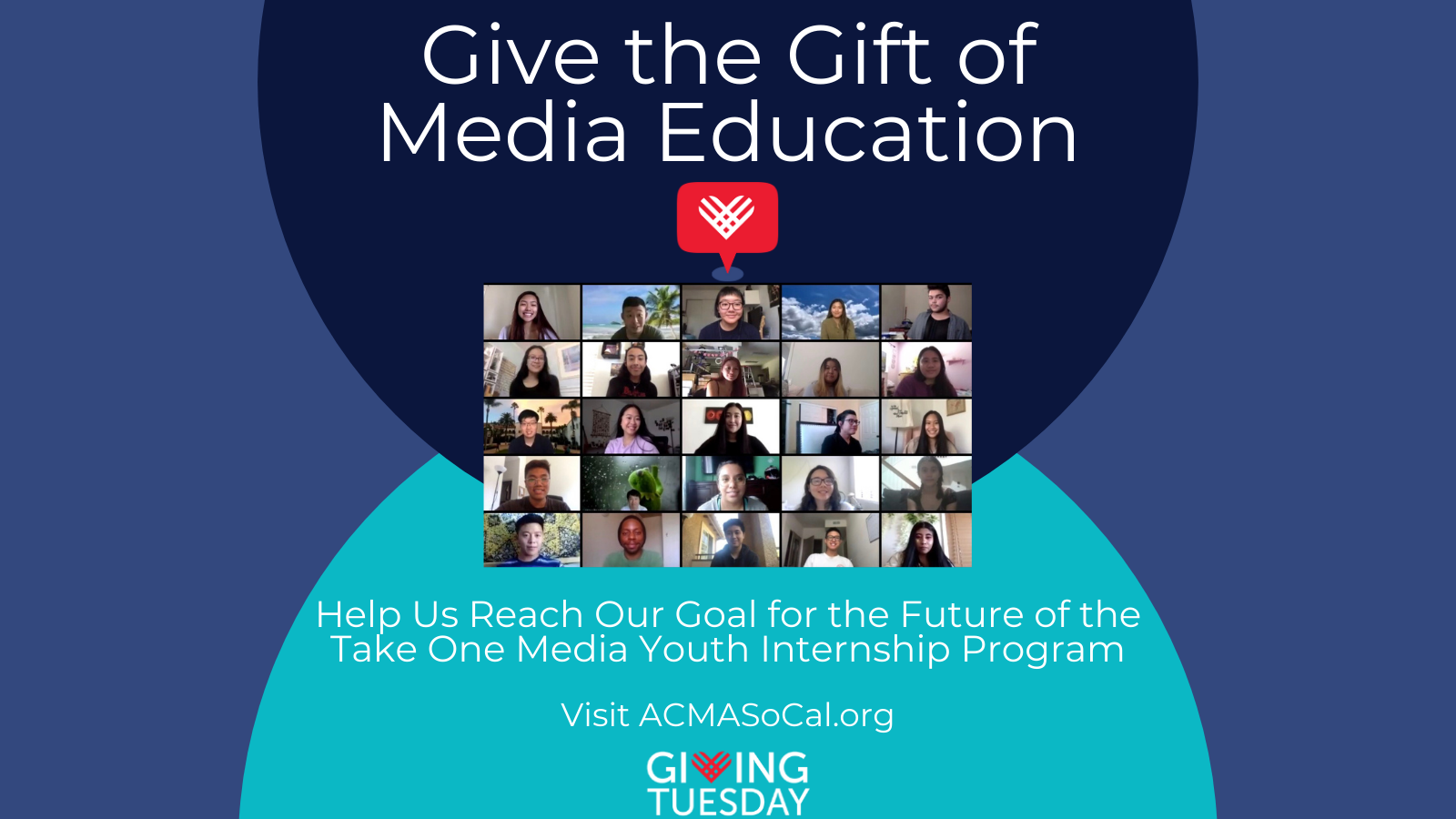 ACMA Giving Tuesday Banner